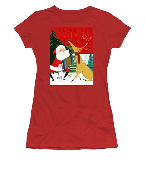 Falalalalah Women's T-Shirt (Athletic Fit)