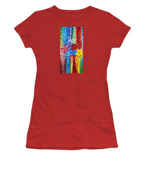 Flower Shower Women's T-Shirt (Athletic Fit)