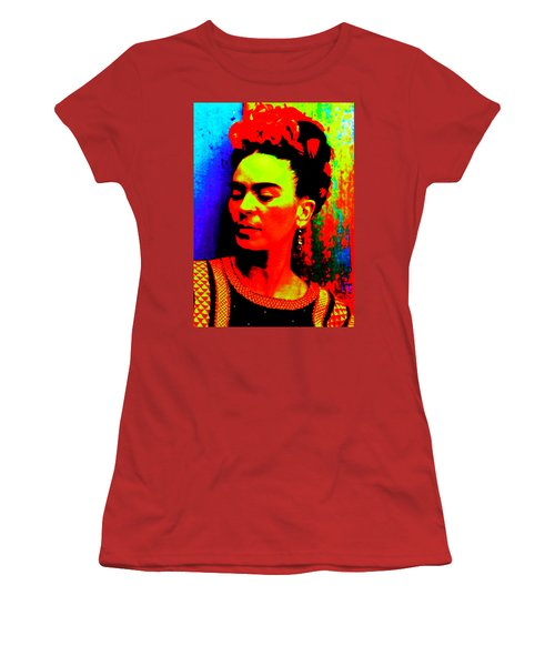 Funky Frida Women's T-Shirt (Athletic Fit)
