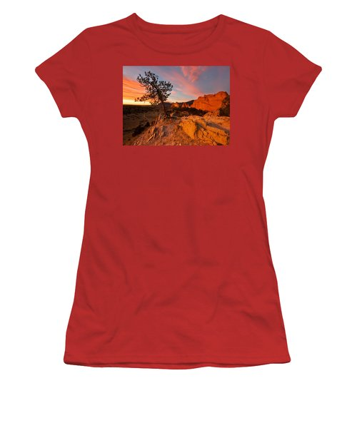 Garden Sunrise Women's T-Shirt (Athletic Fit)