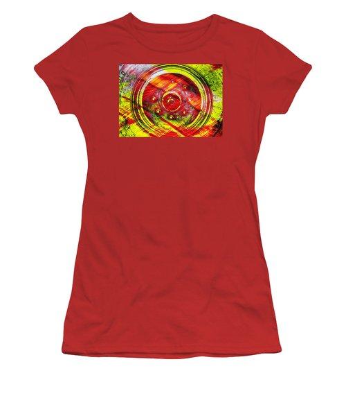 Geometric Colors  Women's T-Shirt (Junior Cut) by Prakash Ghai
