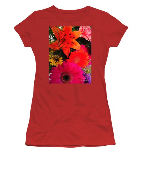 Women's T-Shirt (Junior Cut) featuring the photograph Glowing Bright by Meghan at FireBonnet Art