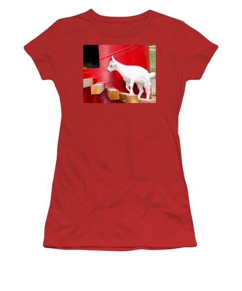 Kid's Play Women's T-Shirt (Junior Cut) by Laurel Best