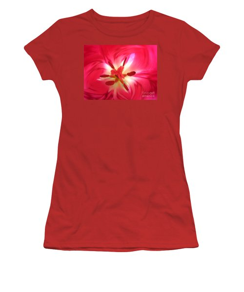God's Floral Canvas 1 Women's T-Shirt (Athletic Fit)