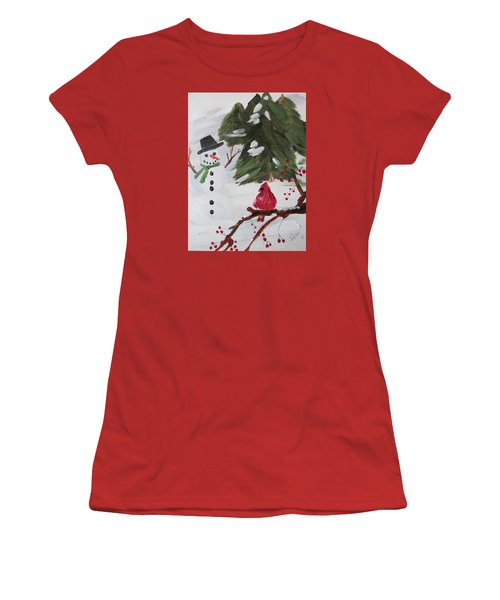 Good Tidings Women's T-Shirt (Athletic Fit)