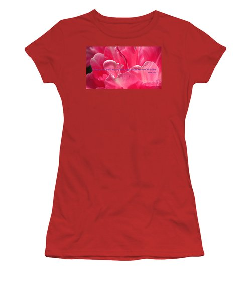 I Wait Women's T-Shirt (Junior Cut)