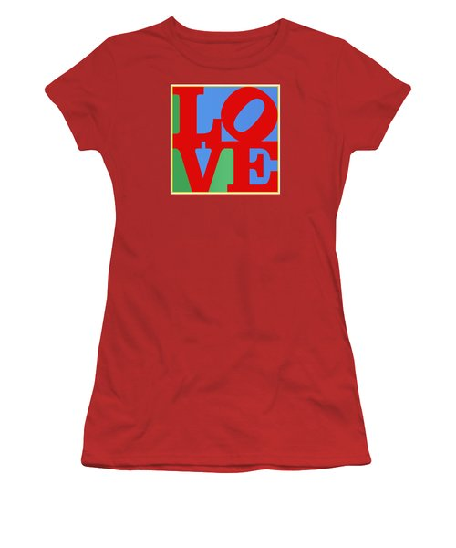 Iconic Love Women's T-Shirt (Junior Cut) by Paulette B Wright