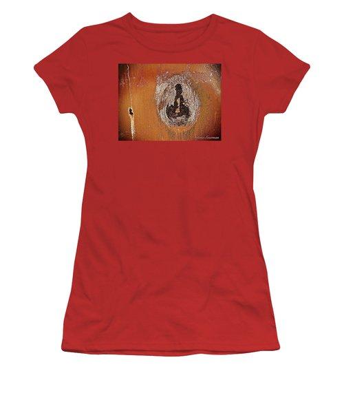 Women's T-Shirt (Junior Cut) featuring the photograph Imprintable by Delona Seserman