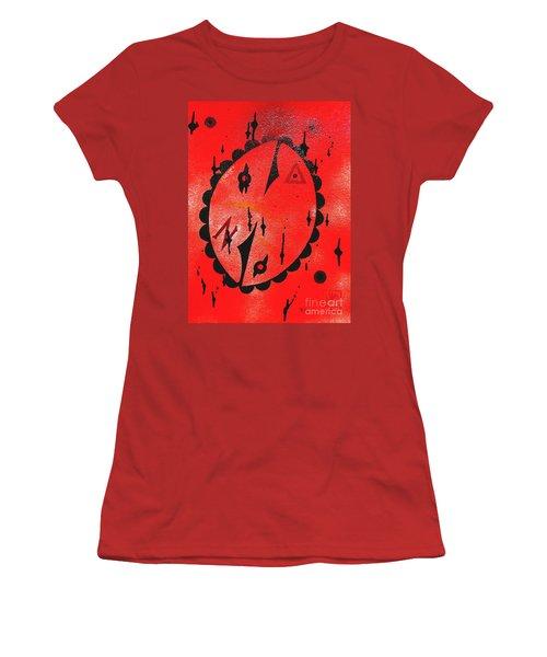 It's A Humpty Dumpty Universe Women's T-Shirt (Junior Cut) by Roberto Prusso