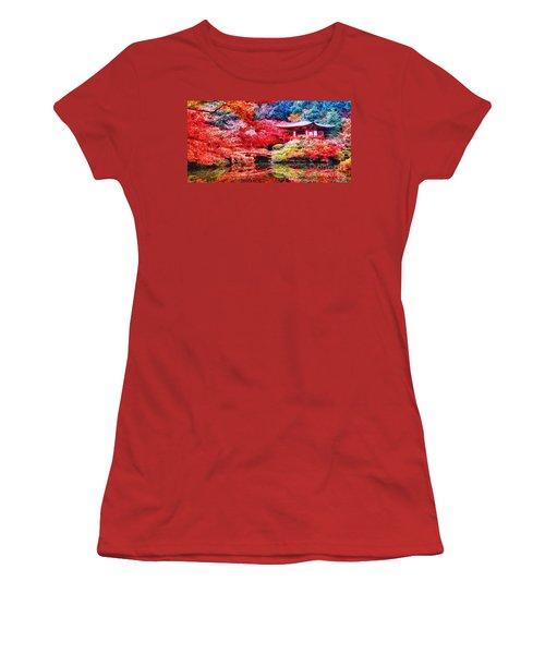 Japanese Garden Women's T-Shirt (Athletic Fit)