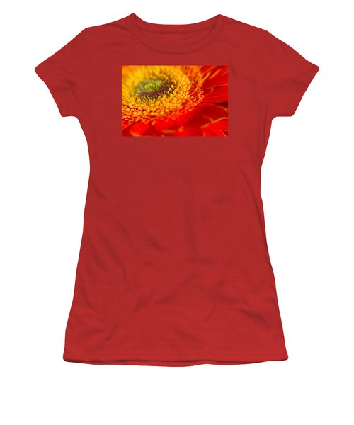 Landscape Of A Flower Women's T-Shirt (Athletic Fit)