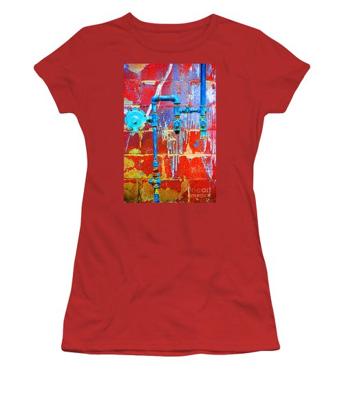 Leaky Faucet Women's T-Shirt (Athletic Fit)