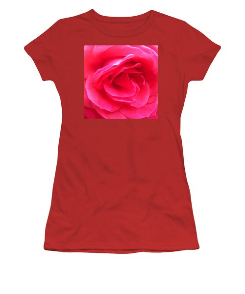Love In Full Bloom - Anniversary Rose Women's T-Shirt (Athletic Fit)