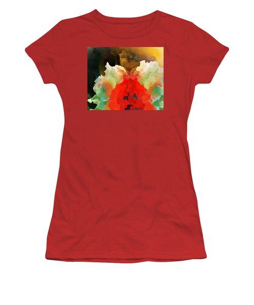 Mystic Bloom Women's T-Shirt (Junior Cut) by David Lane