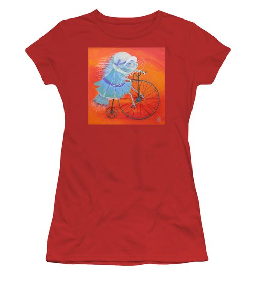 Niece Sonia Women's T-Shirt (Junior Cut) by Marina Gnetetsky