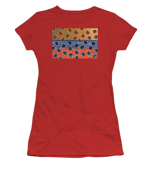 Pacman Zombies Awaking At Sun-rise Women's T-Shirt (Athletic Fit)