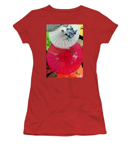 Parasols 1 Women's T-Shirt (Athletic Fit)
