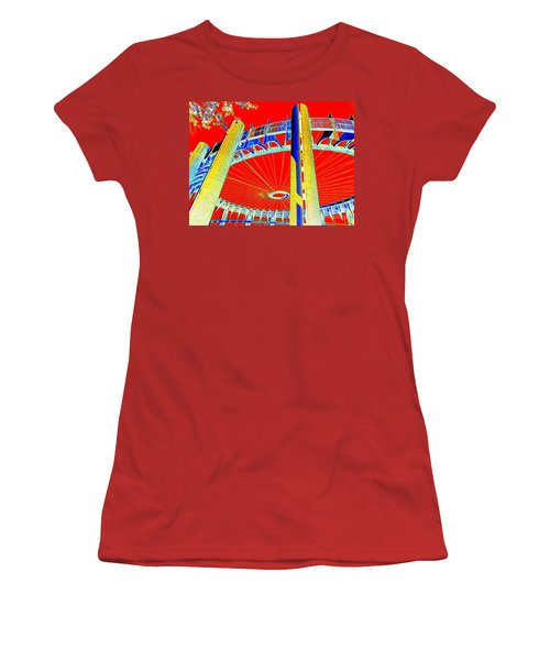 Pop Goes The Pavillion Women's T-Shirt (Athletic Fit)