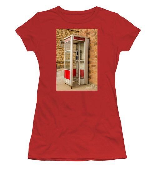 Women's T-Shirt (Junior Cut) featuring the photograph Before Cell Phones by Sue Smith