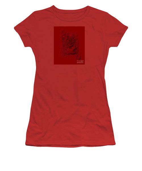 Red Cat Collection. Special... Women's T-Shirt (Junior Cut) by Oksana Semenchenko