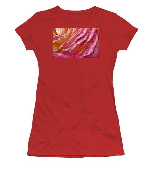 Rose Petals Women's T-Shirt (Athletic Fit)