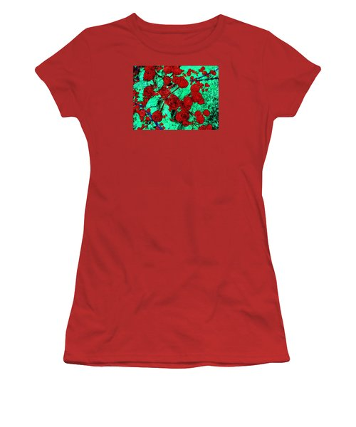 The Red Roses Women's T-Shirt (Athletic Fit)