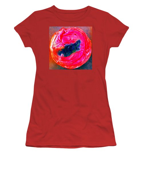 Rotten Tommy's Smile Women's T-Shirt (Junior Cut) by Marianne Dow