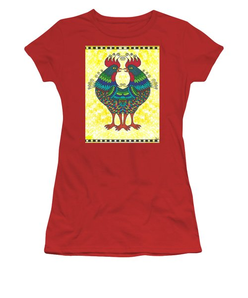 Say What Women's T-Shirt (Junior Cut) by Susie WEBER