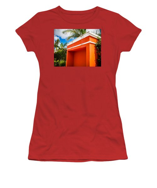 Shelter Orange Women's T-Shirt (Athletic Fit)