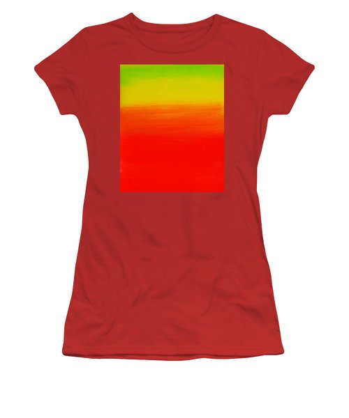 Simply Rasta Women's T-Shirt (Junior Cut) by Jean Cormier