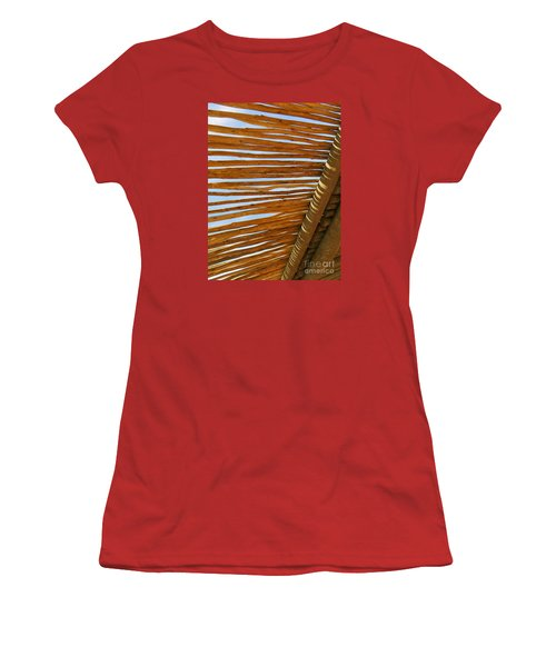 Women's T-Shirt (Junior Cut) featuring the photograph Sky-lined  by Joy Hardee