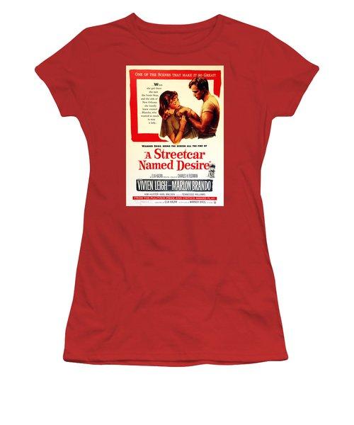 Stellaaaaa - A Streetcar Named Desire Women's T-Shirt (Junior Cut) by Debbie Oppermann