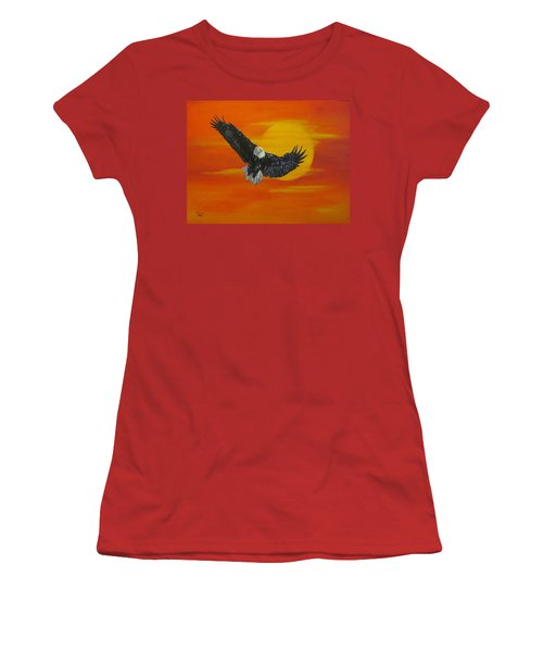 Sun Riser Women's T-Shirt (Athletic Fit)