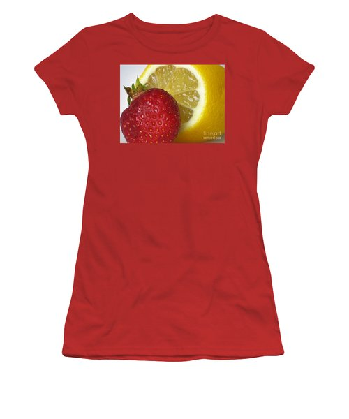 Women's T-Shirt (Junior Cut) featuring the photograph Sweet And Sour by Nina Silver
