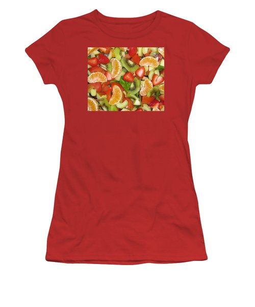 Women's T-Shirt (Junior Cut) featuring the photograph Sweet Yummies by Janice Westerberg
