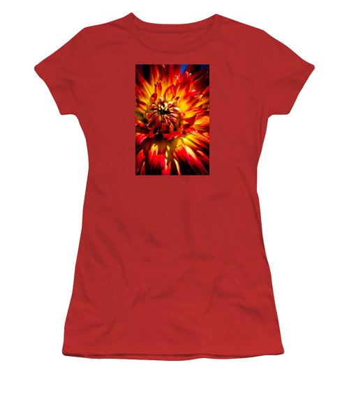 Tahiti Sunrise Women's T-Shirt (Junior Cut) by Joel Loftus