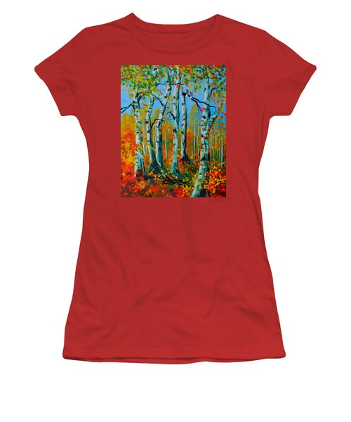 The Aspens Women's T-Shirt (Athletic Fit)