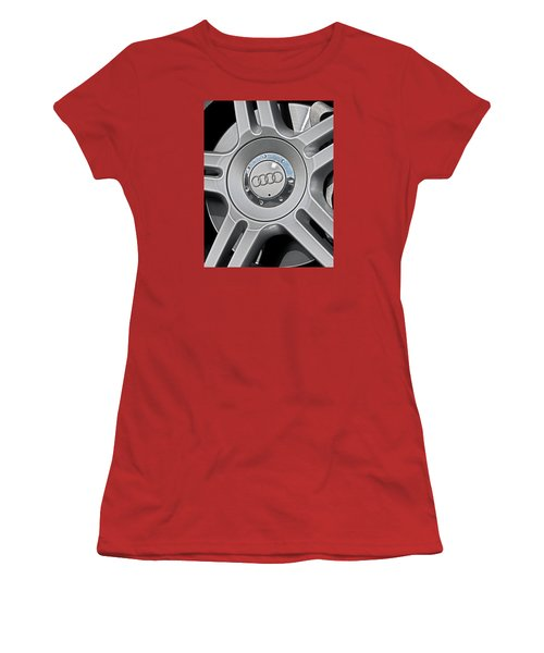 The Audi Wheel Women's T-Shirt (Athletic Fit)