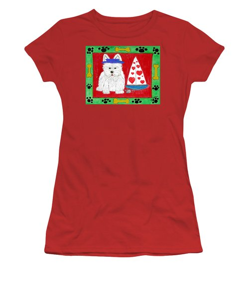 The Love Boat Women's T-Shirt (Junior Cut) by Diane Pape