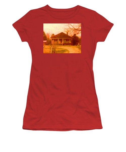 The Old Home Place Women's T-Shirt (Junior Cut) by Rebecca Korpita