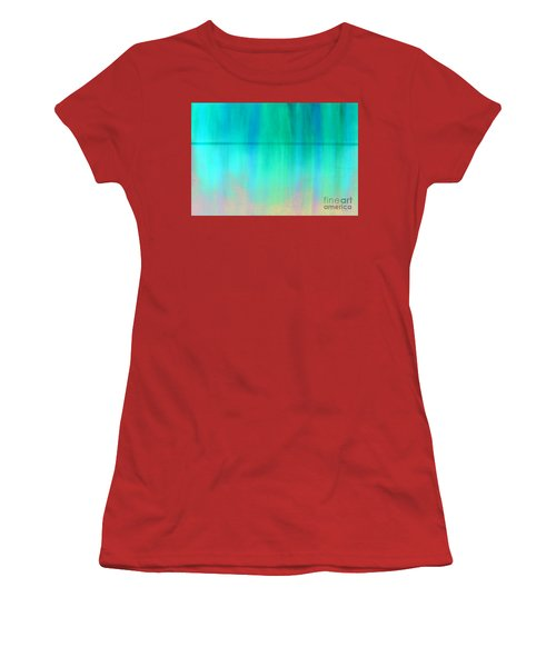 The Thin Red Line Women's T-Shirt (Junior Cut) by Albert Puskaric
