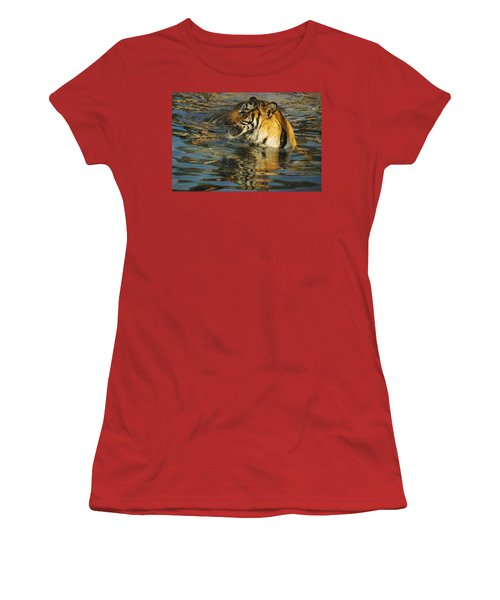 Tiger 3 Women's T-Shirt (Athletic Fit)