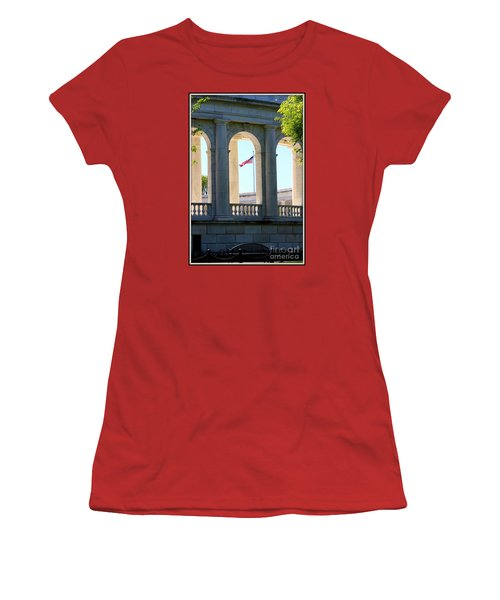 Women's T-Shirt (Junior Cut) featuring the photograph Time To Reflect by Patti Whitten