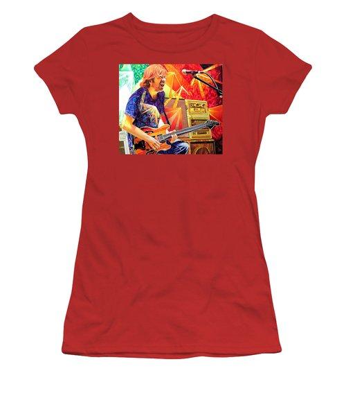 Trey Anastasio Squared Women's T-Shirt (Athletic Fit)