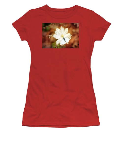 Women's T-Shirt (Junior Cut) featuring the photograph Unity by Trina  Ansel