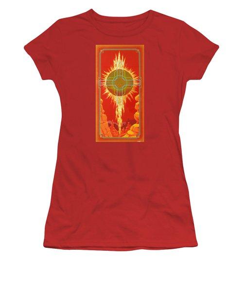 Visitation Women's T-Shirt (Junior Cut) by Alan Johnson