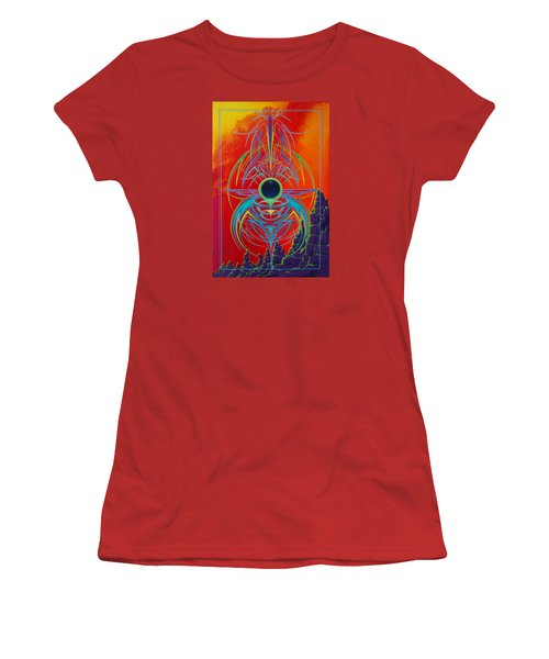 Waiting Over Sedona Women's T-Shirt (Junior Cut) by Alan Johnson