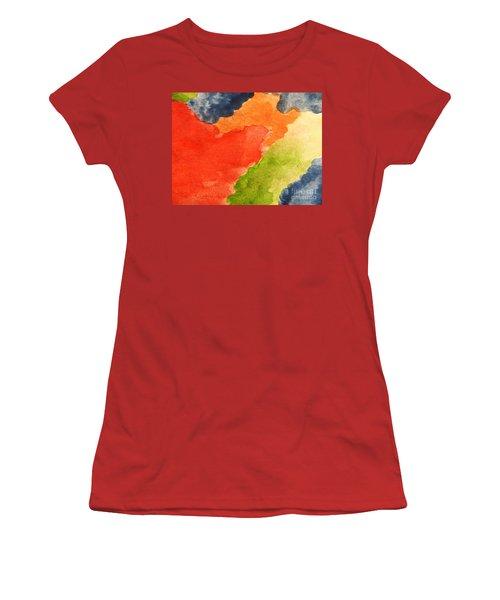 Wash Away Women's T-Shirt (Junior Cut) by Andrea Anderegg