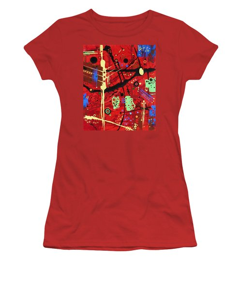 Dia De Muertos Women's T-Shirt (Athletic Fit)