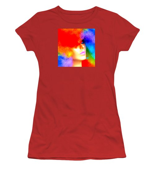 Eye Of The Rainbow Women's T-Shirt (Junior Cut) by John King